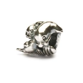 Trollbeads Seal Family Sterling Silver Bead