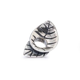 Trollbeads Spring Leaves Sterling Silver Bead