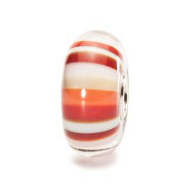Trollbeads Strawberry Stripes Glass