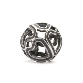 Trollbeads Symphony of Hearts Sterling Silver Bead