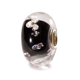 Trollbeads The Diamond Bead - Black Glass