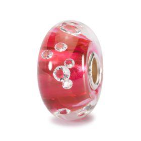 Trollbeads The Diamond Bead - Pink Glass