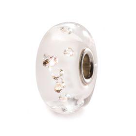 Trollbeads The Diamond Bead - White Glass