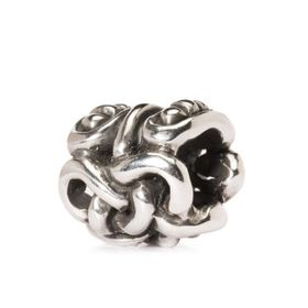 Trollbeads The Midgard Serpent Sterling Silver Bead