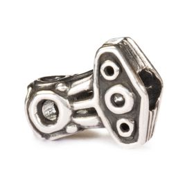 Trollbeads Thor's Hammer Sterling Silver Bead