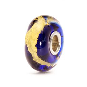 Trollbeads Throat Chakra - Glass & Gold