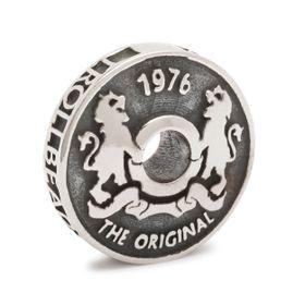 Trollbeads Troll Coin Sterling Silver Bead
