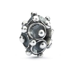 Trollbeads Water Lily Family Sterling Silver Bead