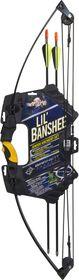 Barnett Lil' Banshee Junior Compound Archery Bow and Arrows Set
