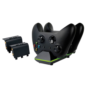 Sparkfox - Dual Charge Dock with two rechargeable batteries (Xbox One)