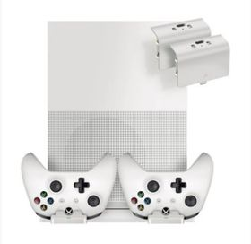 Sparkfox - Vertical Stand Dock with Rechargeable Battery packs (Xbox One)