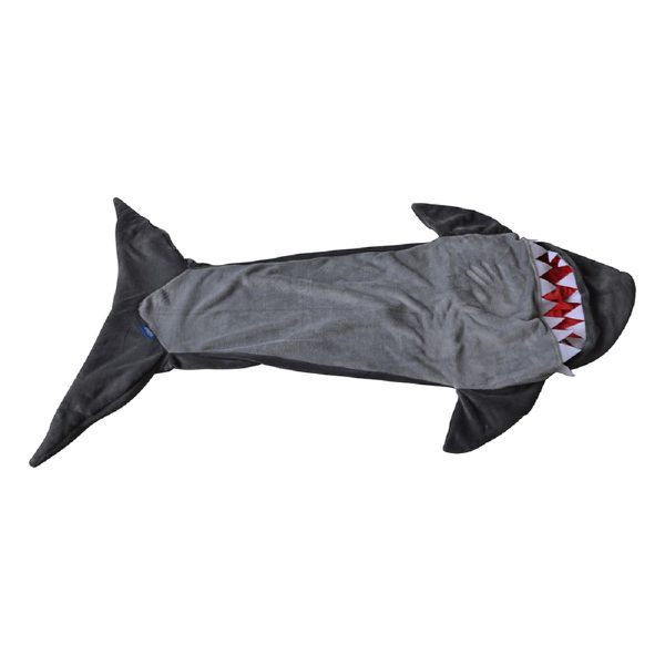 Meerkat Kiddies Shark Sleeping Bag - Grey