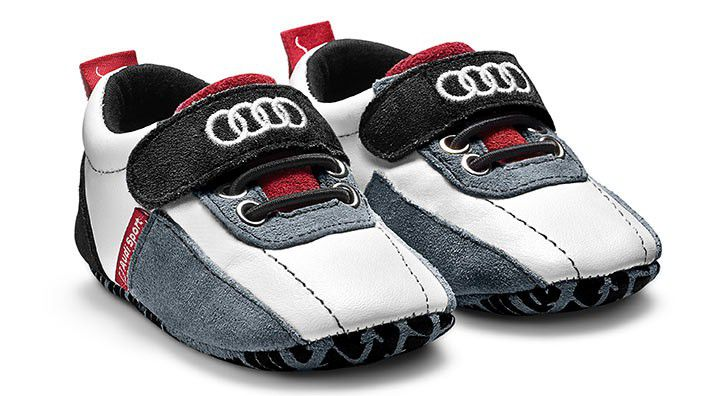 Audi Sport Baby Shoes Black White Red Buy Online In South