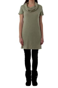 The Earth Collection Ladies Tunik with Collar - Sage