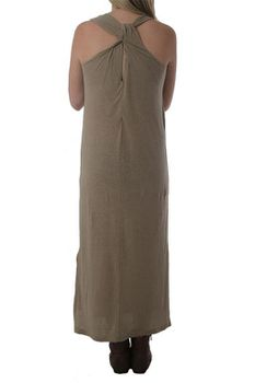 The Earth Collection Ladies Long Dress - Terra Solid