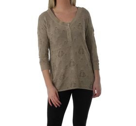 The Earth Collection Ladies Lace Knit 3/4 Sleeve Tunik - Dakar