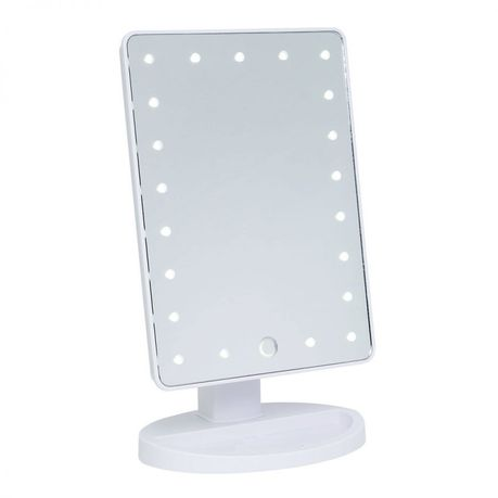 Led Stand Makeup Mirror With Lights