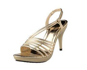 Dodo's Ladies Evening Sandal WSA17005 - Gold