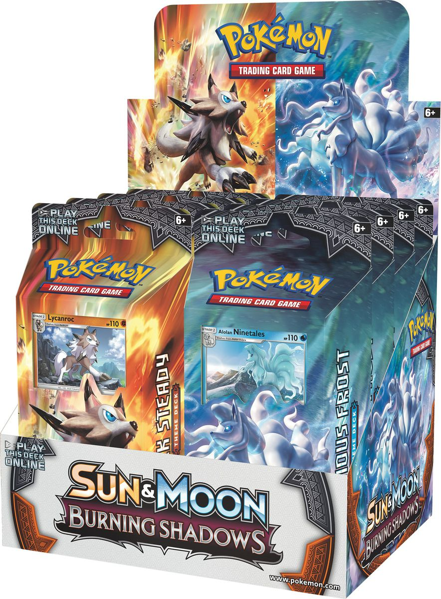 Pokemon Sun and Moon Burning Shadows - Themed Deck (Blind Box). Loading zoom