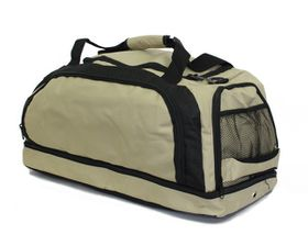 Executive Double Decker Golf Bag - Khaki