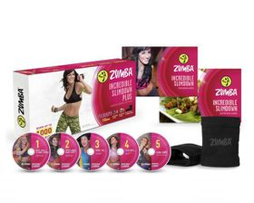 Zumba Fitness Incredible Slimdown DVD System - Parallel Import