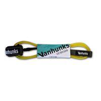 Vanhunks Sup & Surf 9.0 x 7mm Leash - Yellow