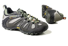 Merrell Mens Chameleon 2 Slam Lace-Up Style Shoes - Khaki