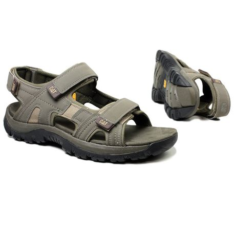2164da07a Caterpillar Mens Giles Back-Strap Open Toe Style Sandals - Khaki ...