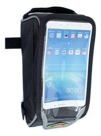 "Waterproof Bike Phone Bag for iPhone & Android 5½"" - Black"
