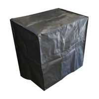 Patio Solution Polyweave Appliance Cover - Black (Size: L)