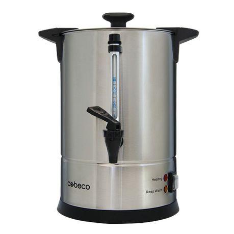 Cobeco Coffee Percolator 8l Silver