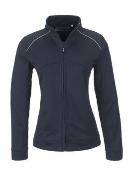 Cutter Buck Ladies Drytec Edge Full Zip Jacket - Navy