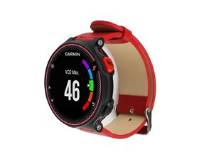 Garmin Forerunner Leather Bands- Red