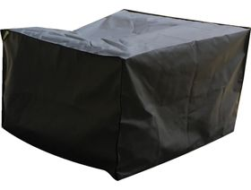 Patio Solution Covers Armchair Cover in Ripstop - UV Charcoal
