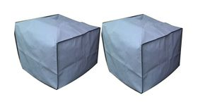 Patio Solution Covers Armchair Cover Twinpack in Polyester - Grey
