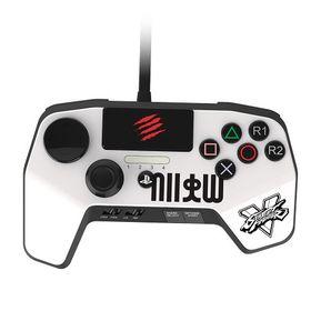 Sparkfox - MadCatz Controller - White (PS3/PS4)