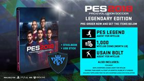 PES 2018 Legendary Edition (Xbox One)