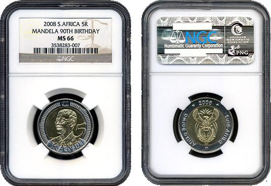 Image result for mandela r5 coin