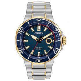 Citizen Mens Eco-Drive Two-Tone Bracelet Watch (Parallel Import)