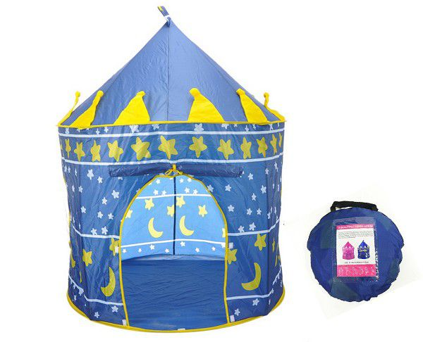Kids Castle Cubby House Play Tent - Blue. Loading zoom  sc 1 st  Takealot.com & Kids Castle Cubby House Play Tent - Blue | Buy Online in South ...