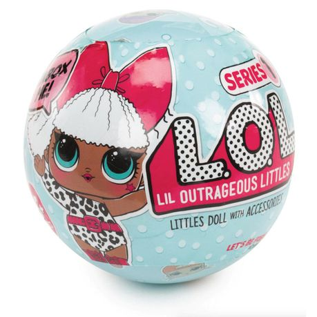 L O L Surprise Tots Ball Doll In Side Kick Blind Box Buy Online