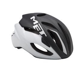 MET Rivale Black/White - (Size: L)
