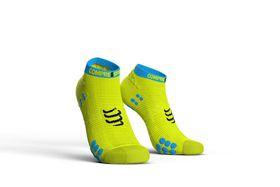 Compressport Pro Racing Socks, Run Lo V3.0 Fluo Yellow - T2