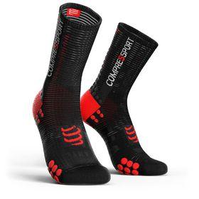 Compressport Pro Racing Socks Bike V3.0 Black/Red - T2