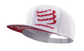 Compressport Flat Cap - White