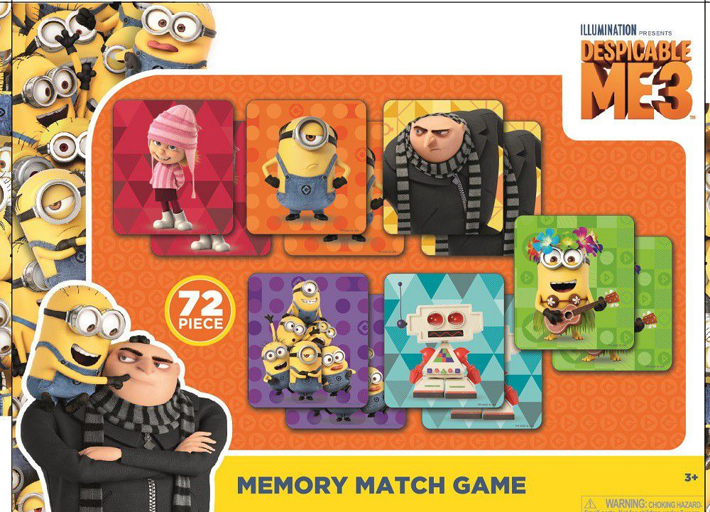 despicable me 3 memory match games buy online in south africa