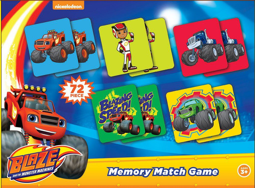 blaze and the monster machines blaze memory match games buy online