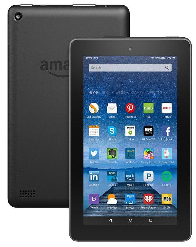 Kindle fire 7 wifi tablet black includes special offers buy kindle fire 7 wifi tablet black includes special offers loading zoom fandeluxe Images