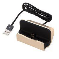 Micro USB Charge & Sync Docks for Samsung - Gold