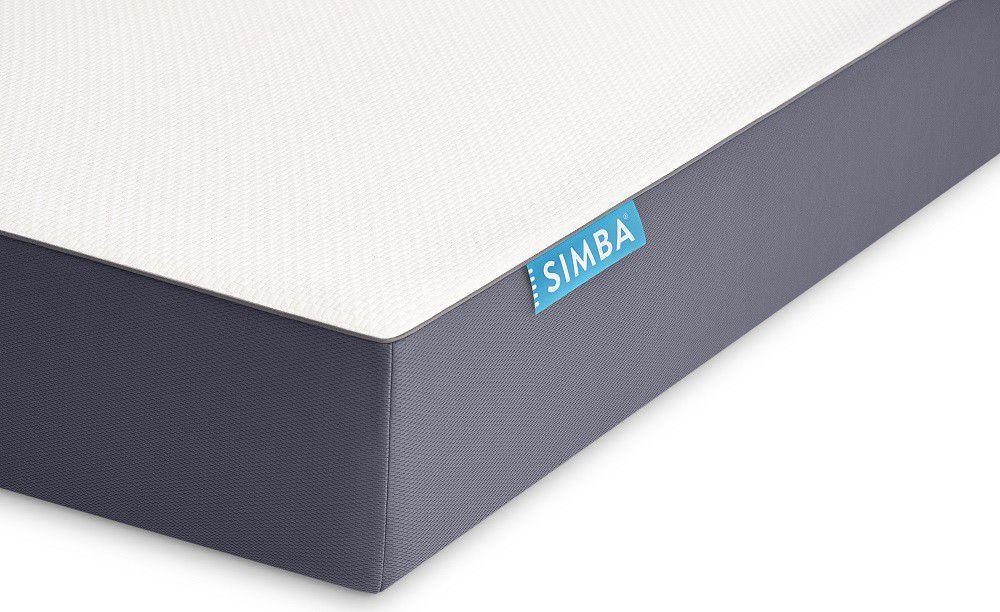 simba fusion memory foam pocket spring mattress single